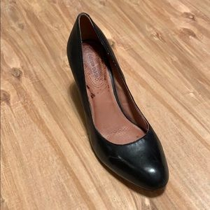 Corso Como leather heels 8.5 black